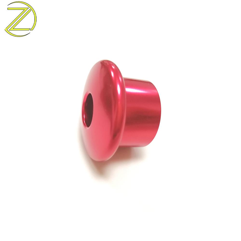 Red Anodized Button Head